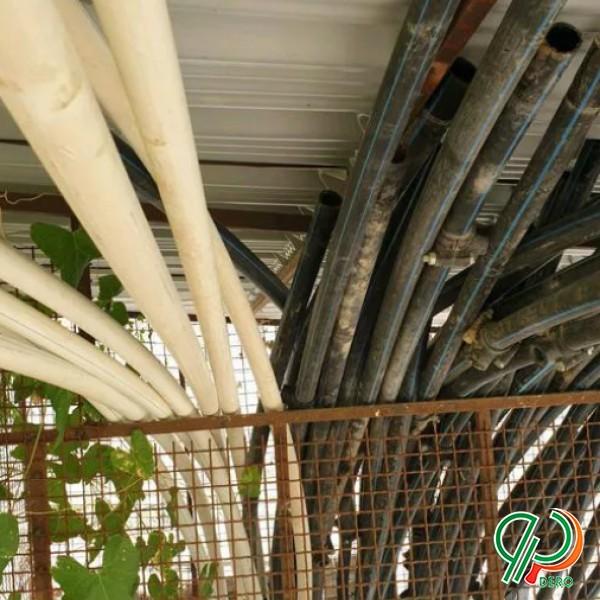 لوازم کامل آبیاری قطره ایی در حد آکبند