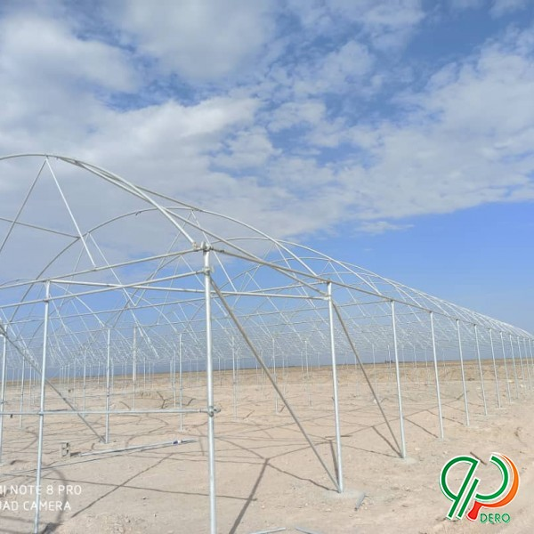 طراحی ،نصب و اجرای سازه های گلخانه ای از صفر تا صد